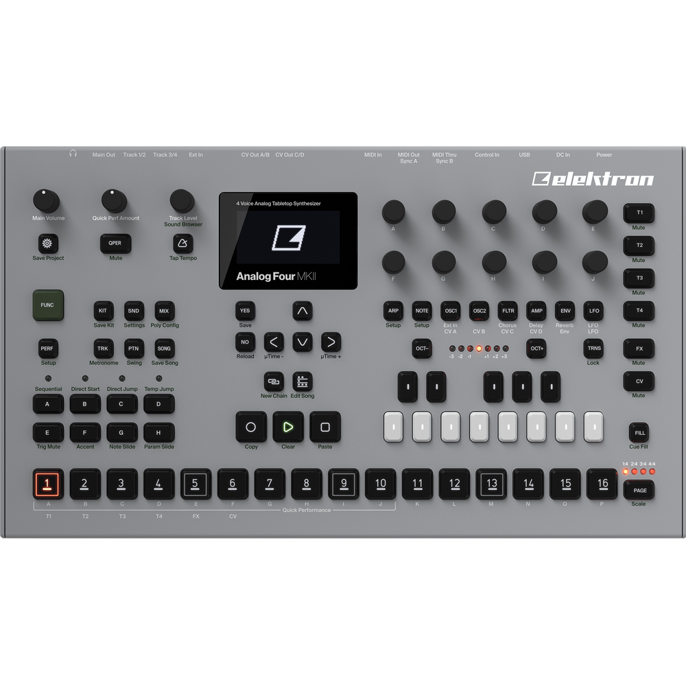 elektron analog four mkii manual
