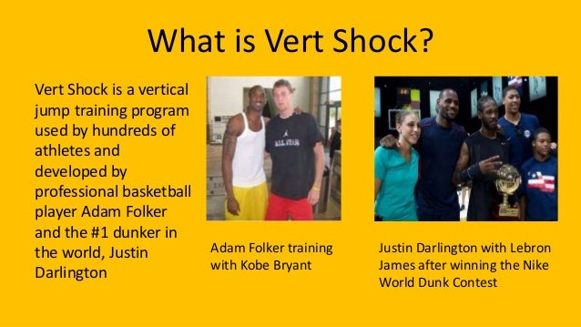 vert shock vs jump manual