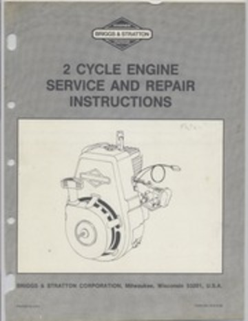 briggs and stratton service manual free download