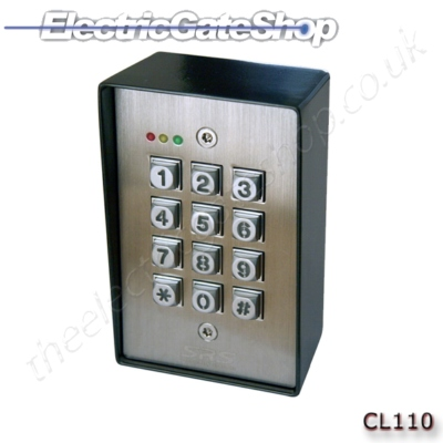 access control stand alone single door system manual