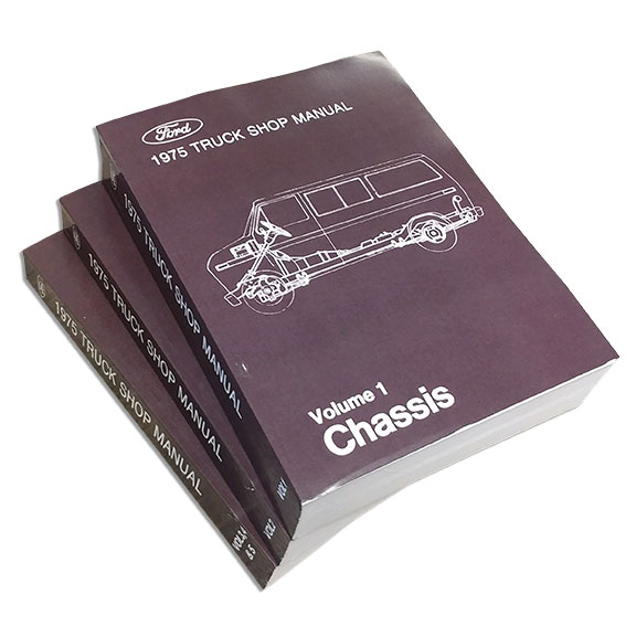 1975 ford truck shop manual