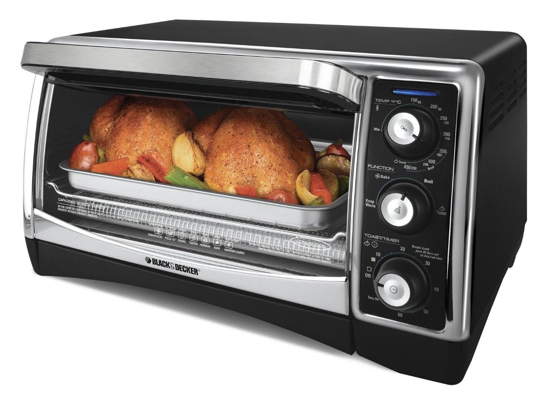 black & decker countertop oven manual