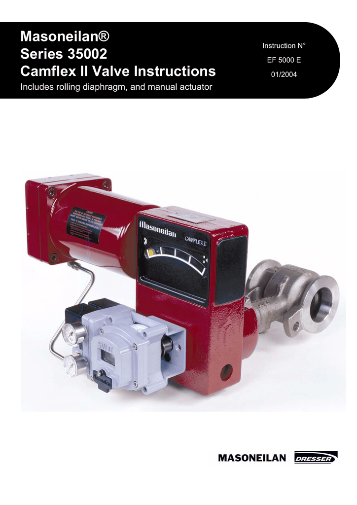 masoneilan camflex ii 35212 manual