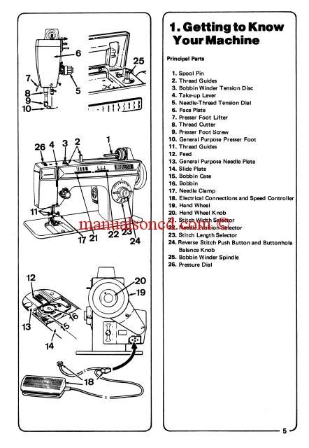 brother sewing machine repair manual