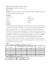 chemistry 121 lab manual answers