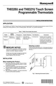 honeywell focuspro 6000 programmable thermostat installation manual