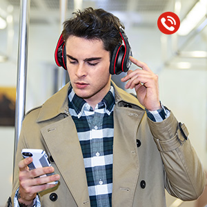 mpow bluetooth headphones over ear manual