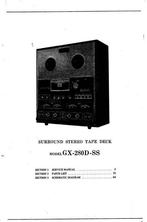 akai gx 625 service manual