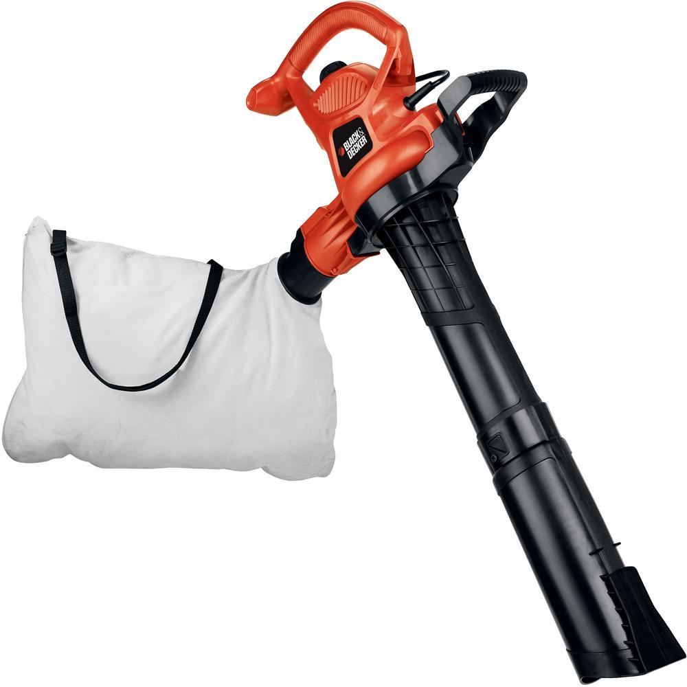 black and decker leaf blower vacuum manual