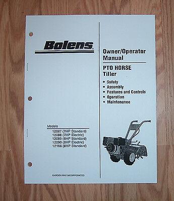honda f501 tiller parts manual