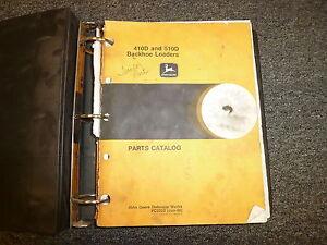 john deere 410d backhoe manual