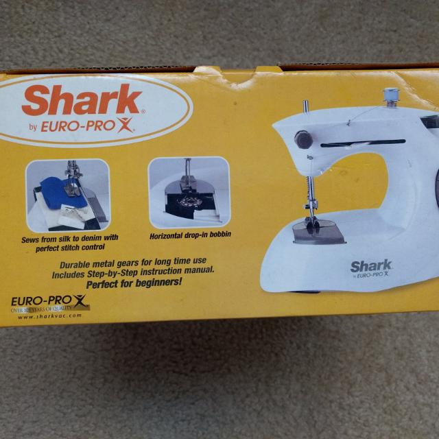 shark euro pro sewing machine manual 998a