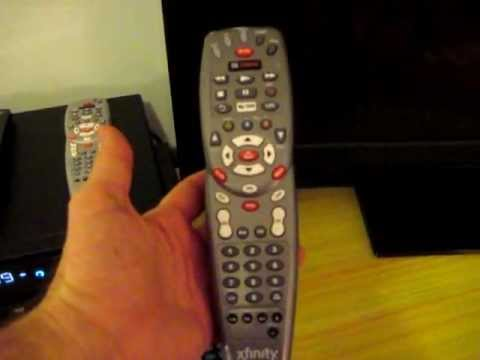 comcast remote manual code search