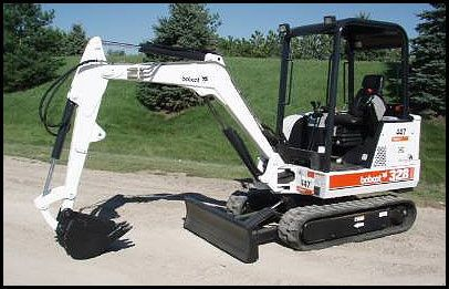 bobcat 325 mini excavator manual