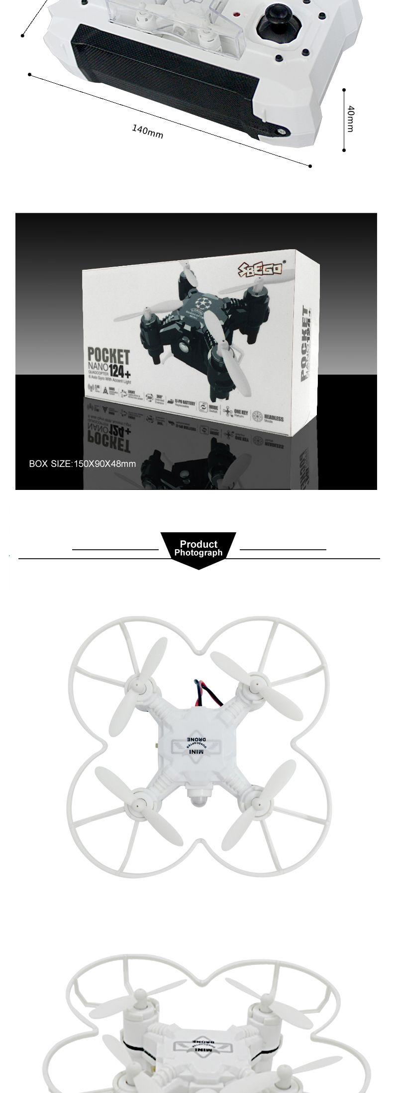 sbego pocket drone 124 manual
