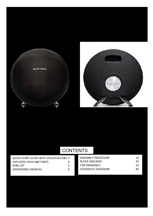 harman kardon onyx studio manual