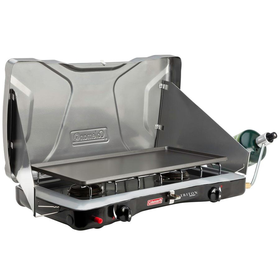 coleman 2 burner propane stove manual