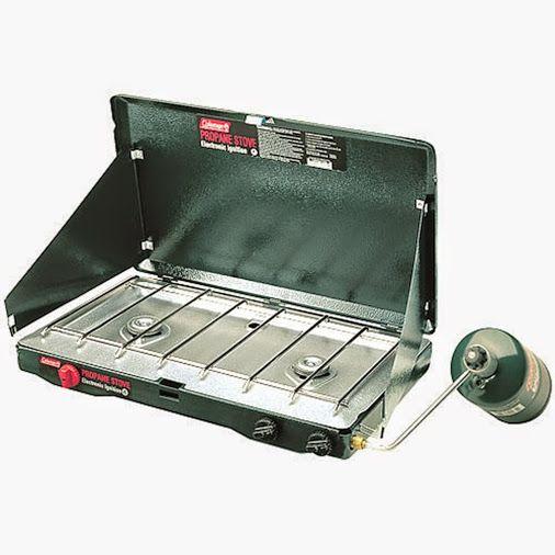 coleman 2 burner propane stove manual