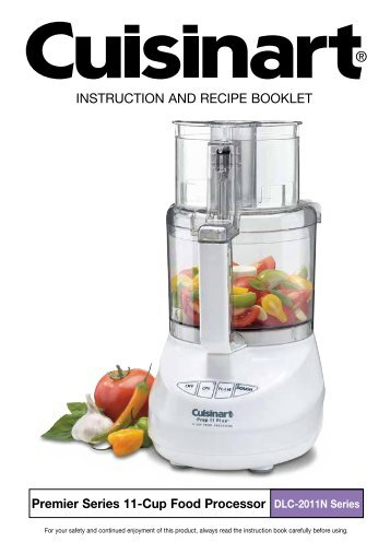 cuisinart food processor manual 11 cup