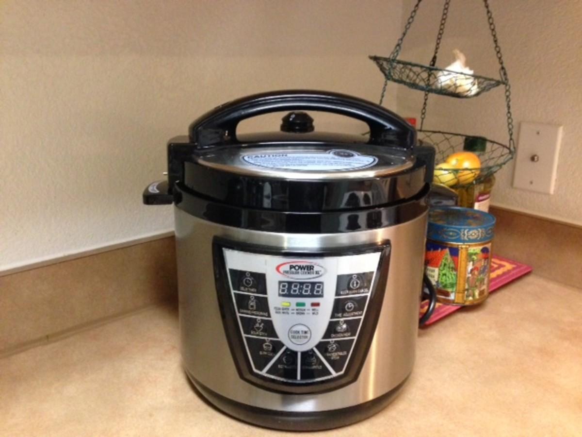 power pressure cooker xl 10 quart owners manual