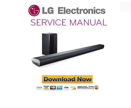 lg sound bar manual sh5b