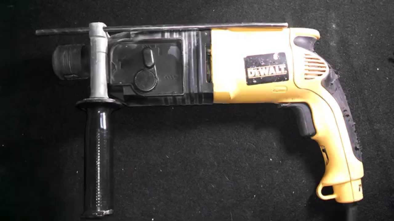 dewalt dw505 hammer drill manual