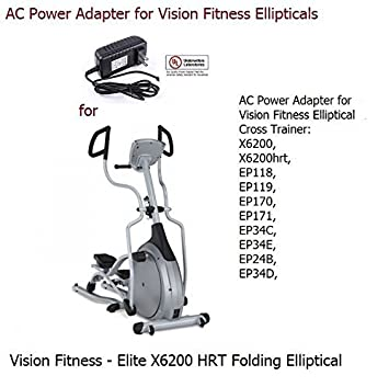 vision fitness hrt x6200 elliptical manual