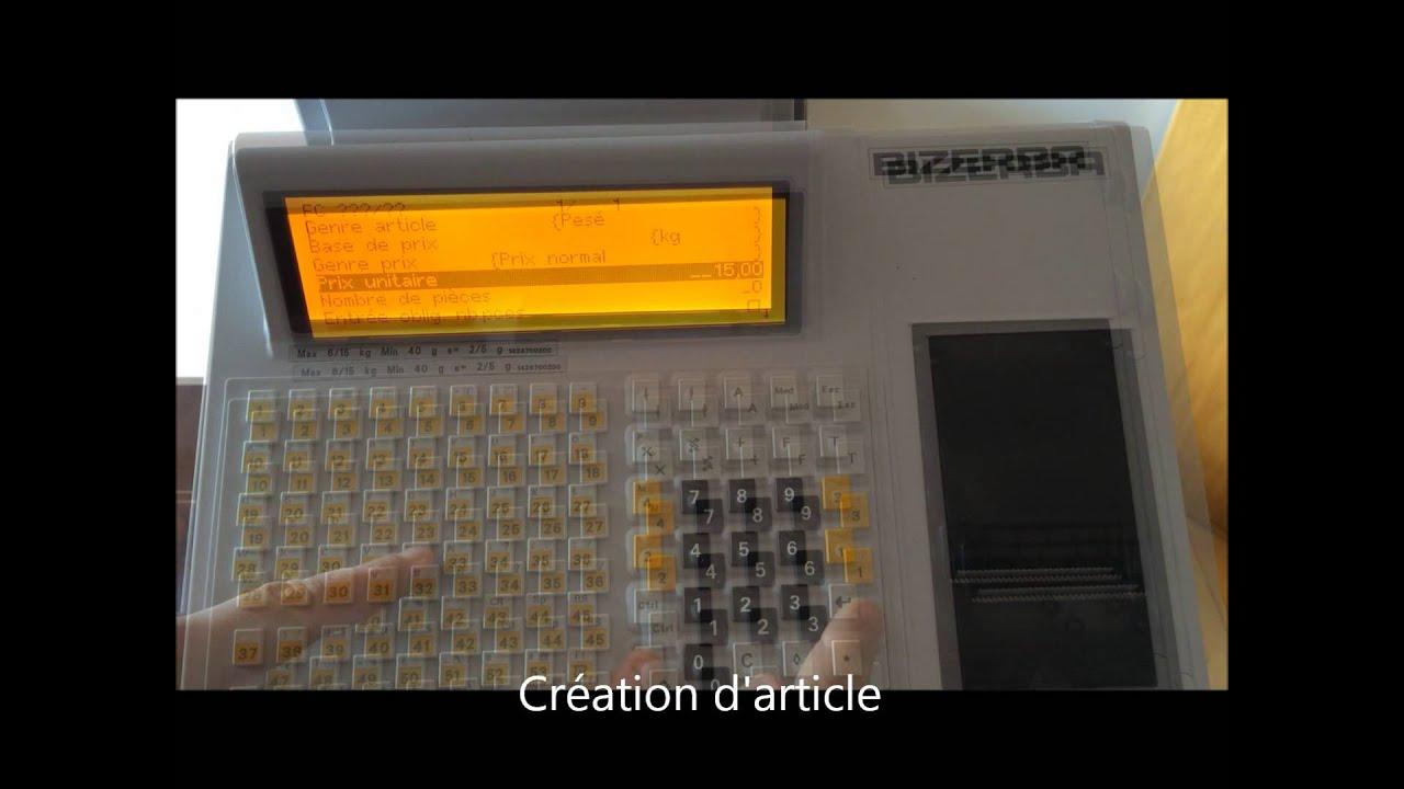 bizerba sc ii 800 user manual