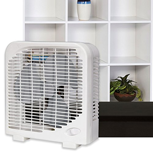 bionaire energy saving manual thin window fan black