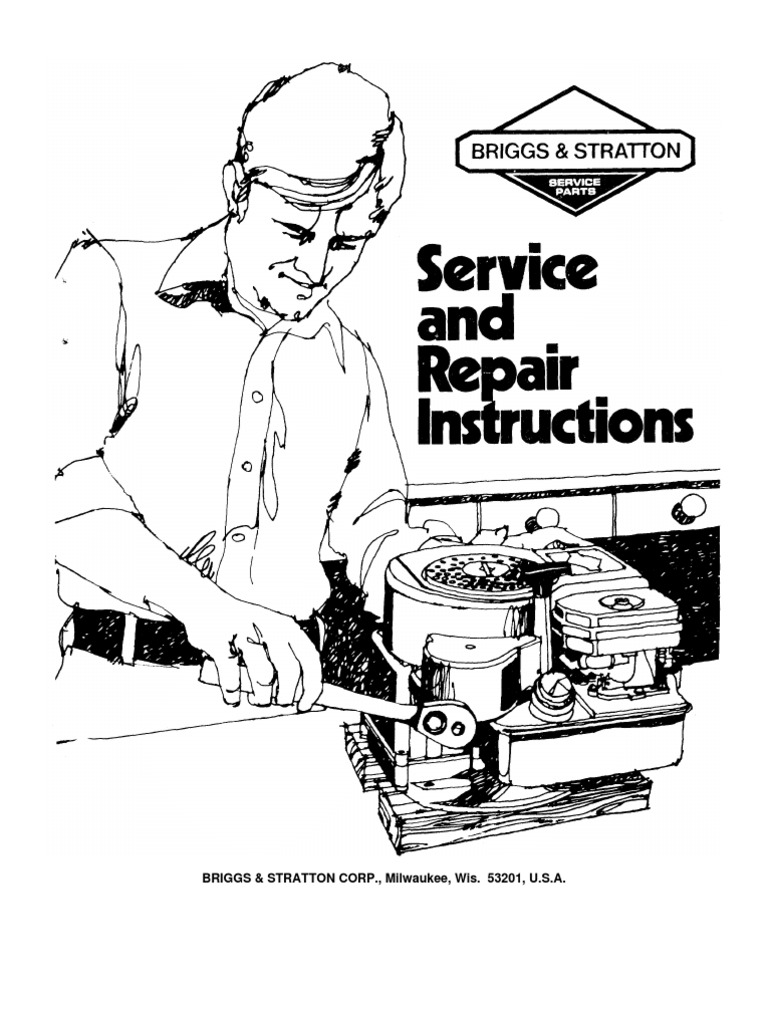 download briggs stratton 270962 repair manual