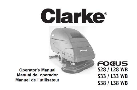 clarke focus 2 parts manual