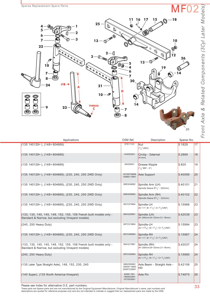 ford 5000 tractor parts manual