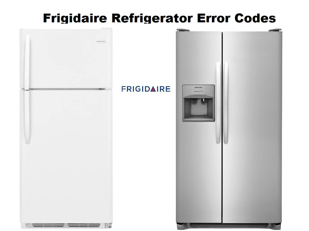 frigidaire refrigerator repair manual pdf