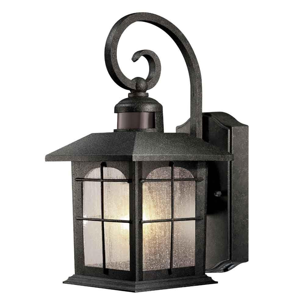 hampton bay motion sensing exterior wall lantern manual
