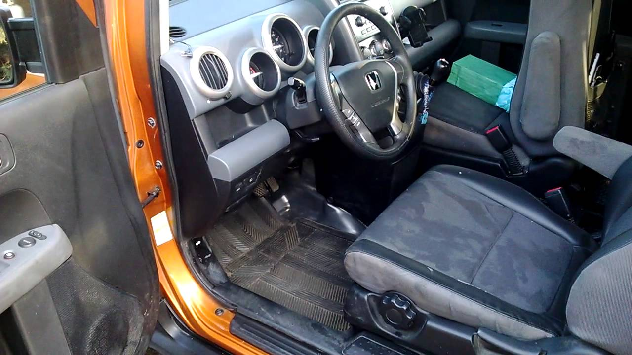 honda element awd manual transmission