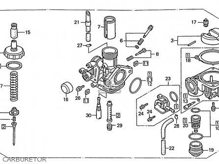 honda xrm 110 parts manual