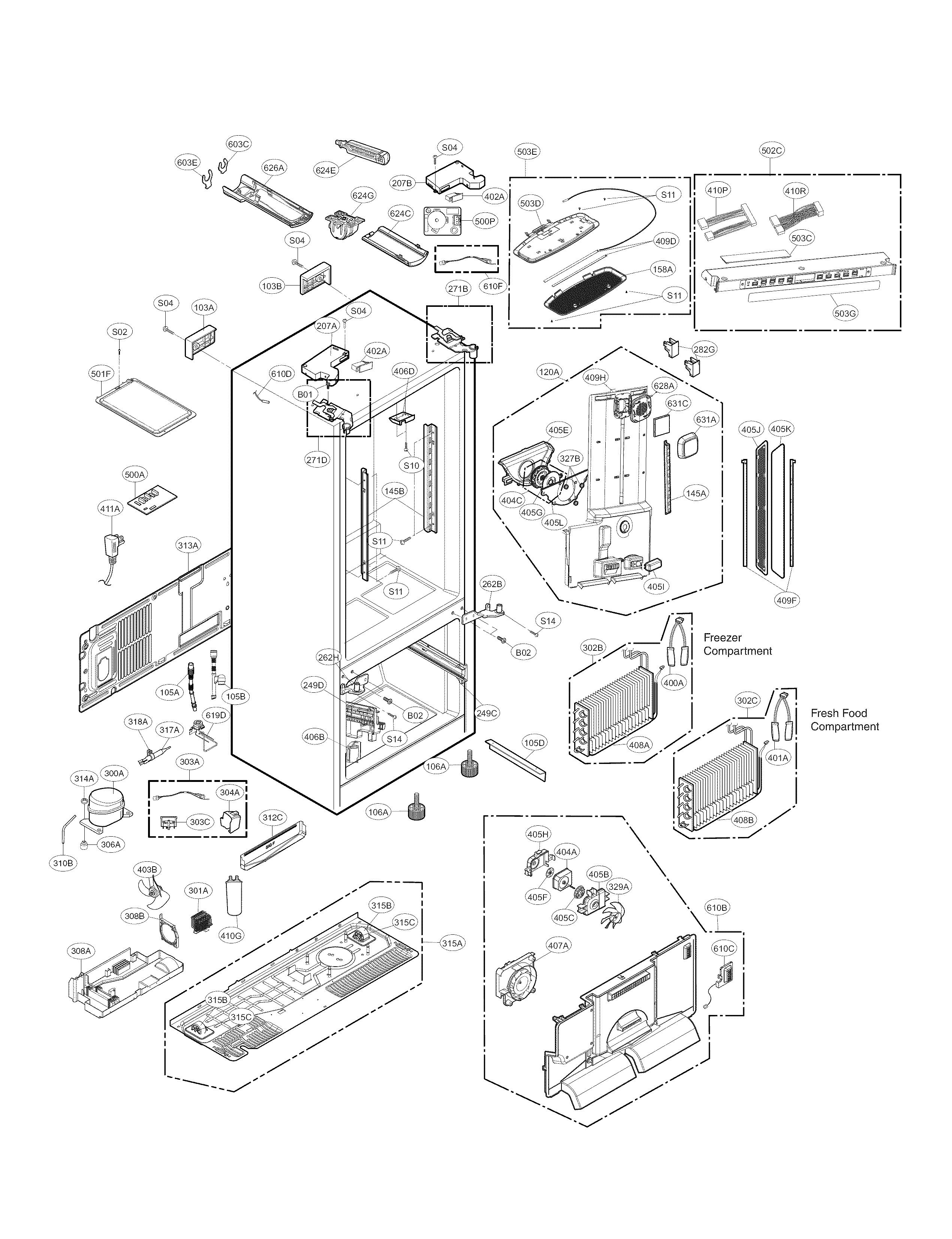 kenmore elite refrigerator repair manual