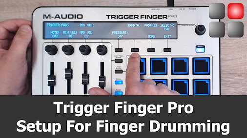 m audio trigger finger pro manual