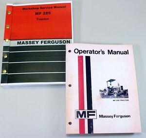 massey ferguson 231 owners manual