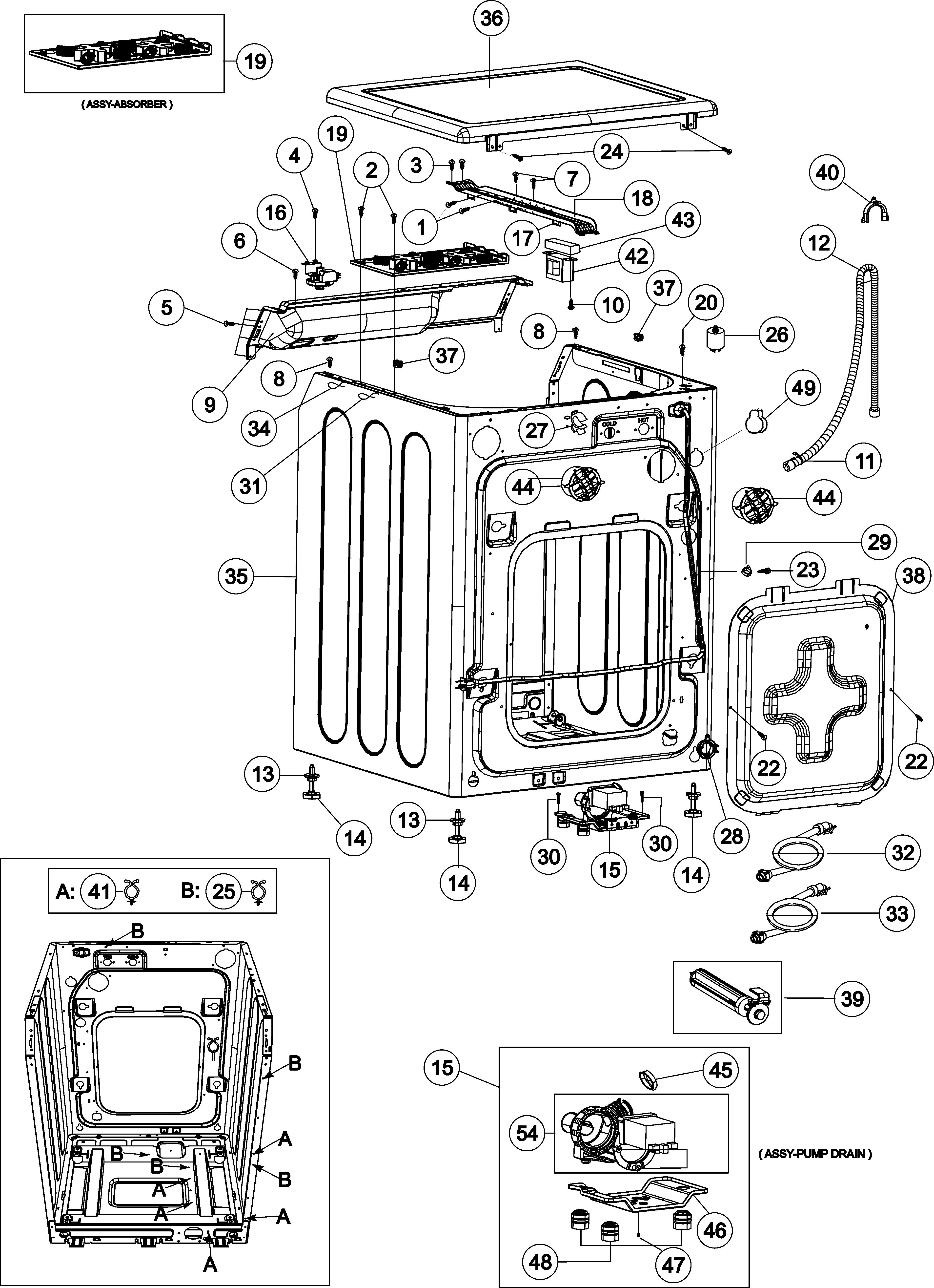 maytag performa washer service manual