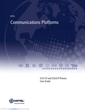 mitel 5324 ip phone user manual
