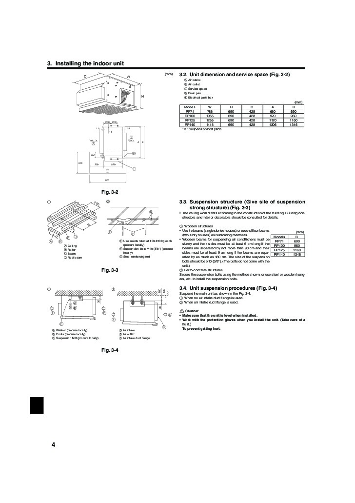 mitsubishi slimline air conditioner manual
