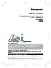 panasonic kx tga470c operating manual