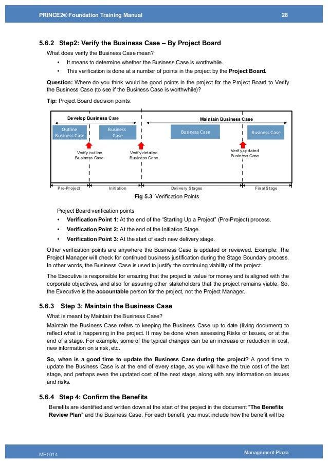 prince2 foundation training manual pdf