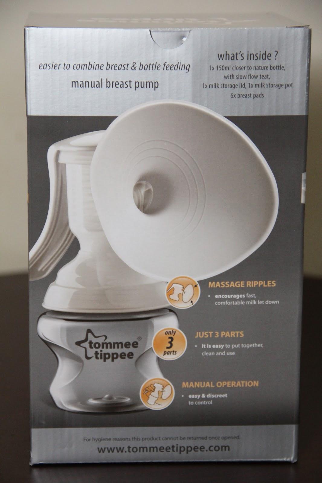 tommee tippee manual breast pump price