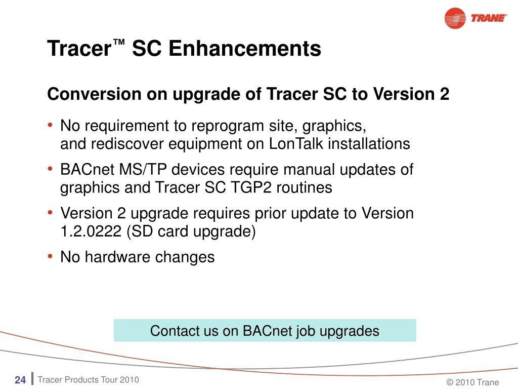 trane tracer sc user manual
