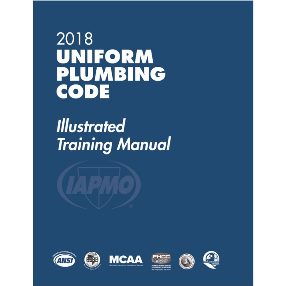 uniform plumbing code illustrated training manual pdf