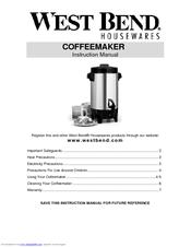 west bend 58030 manual pdf