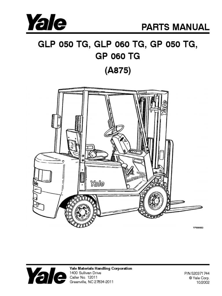 yale forklift service manual pdf