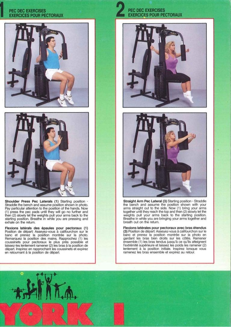 york compact gym 4180 manual